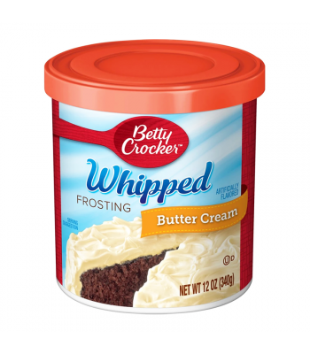 Betty Crocker Whipped Butter Cream Frosting - 12oz (340g) Food and Groceries Betty Crocker