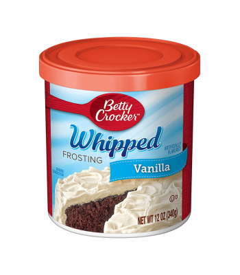 Betty Crocker Whipped Vanilla Frosting - 12oz (340g)