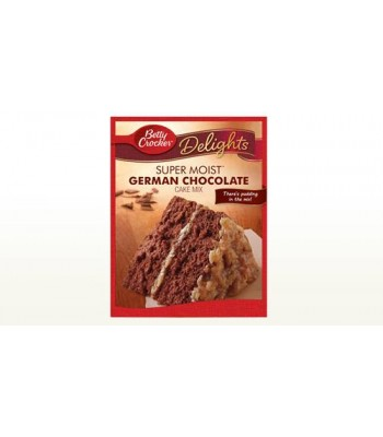 Clearance Special - Betty Crocker Super Moist German Chocolate (432g) **Best Before: 22 December 16** Clearance Zone