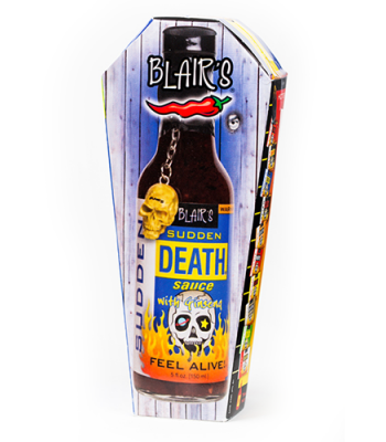 Blair's Sudden Death Sauce 5fl.oz (150ml) - Coffin Gift Box Sauces & Condiments Blair's