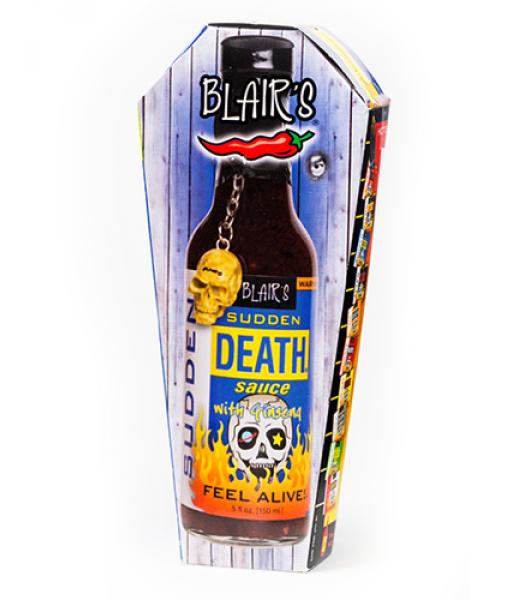 Blair's Sudden Death Sauce 5fl.oz (150ml) - Coffin Gift Box Sauces & Condiments Blair's