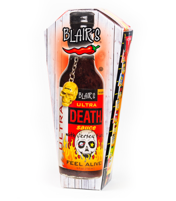 Blairs Ultra Death Sauce 150ml - Coffin Gift Box Sauces & Condiments Blair's