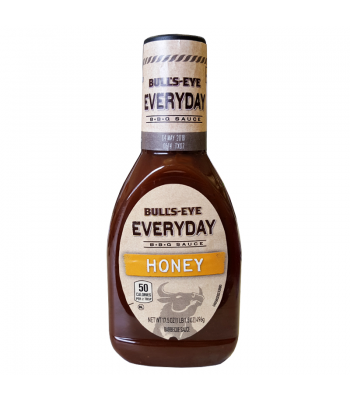 Bull's Eye - Everyday Honey BBQ Sauce - 17.5oz (496g) Sauces & Condiments Bull's Eye