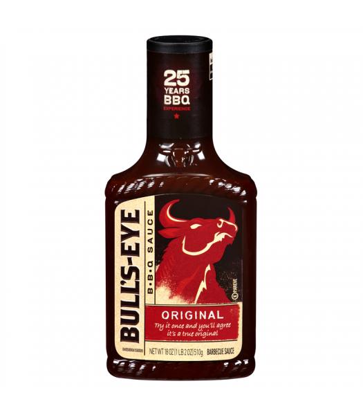 Bull's Eye - Original BBQ Sauce - 18oz (510g) Sauces & Condiments Bull's Eye