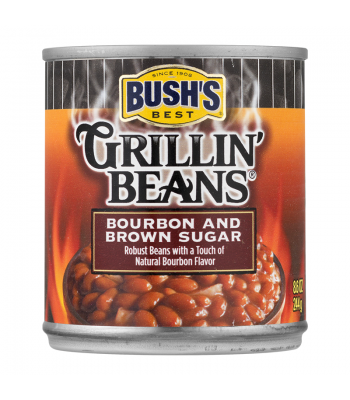 Bush Grillin Baked Beans Bourbon Brown Sugar 8.6oz (244g) Food and Groceries Bush's Beans