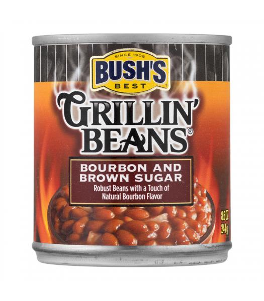 Bush Grillin Baked Beans Bourbon Brown Sugar 8.6oz (244g) Food and Groceries Bush's Beans