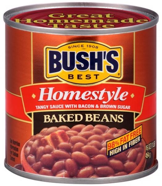 Bush's Best Homestyle Baked Beans 16oz (454g) Tinned Groceries