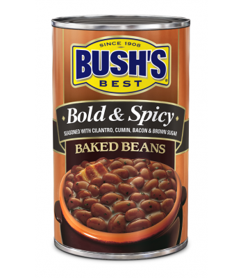 Bush's Best Bold & Spicy Baked Beans 28oz (794g) Tinned Groceries Bush's Baked Beans