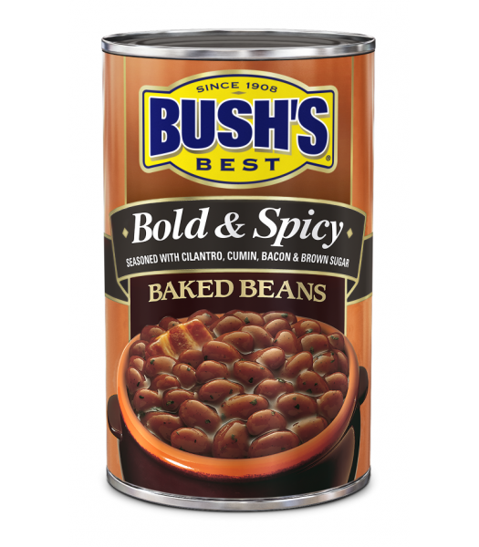 Bush's Best Bold & Spicy Baked Beans 28oz (794g) Tinned Groceries Bush's Beans