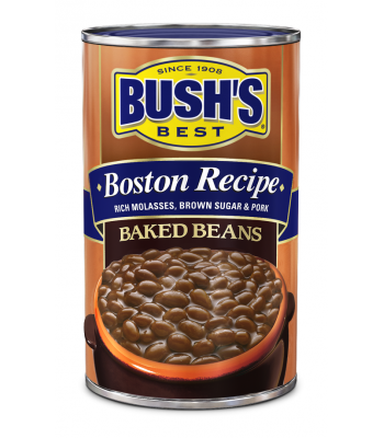 Bush Baked Beans Boston Recipe 28oz 794g Tinned Groceries Bush's Beans