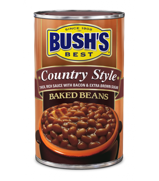 Bush's Best Country Style Baked Beans 28oz (794g) Tinned Groceries Bush's Baked Beans