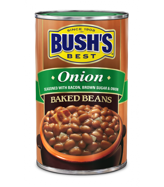 Bush Baked Beans With Onion 28oz Tinned Groceries Bush's Beans