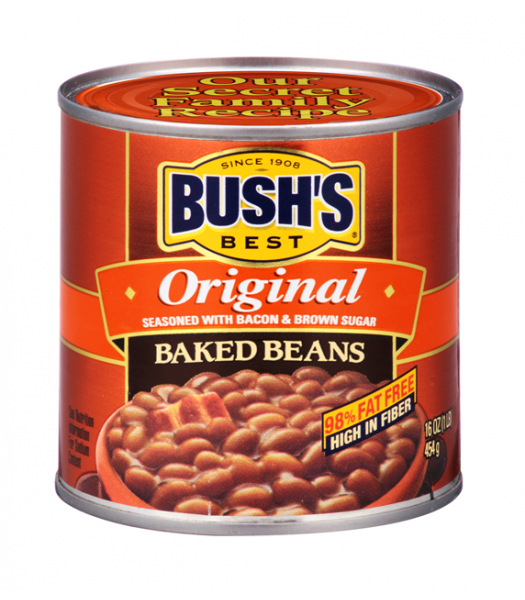 Bush's Best Original Baked Beans 16oz (454g) Tinned Groceries Bush's Baked Beans
