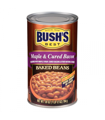 Bush's Best Maple & Cured Bacon Baked Beans - 28oz (794g) Food and Groceries Bush's Beans