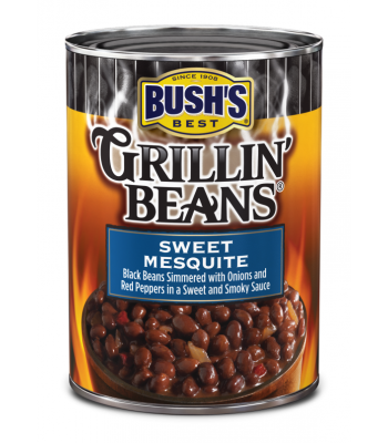 Bush's Best Grillin Beans Sweet Mesquite 21.5oz (610g) Tinned Groceries Bush's Beans