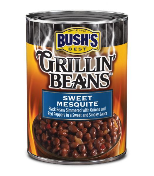 Bush's Best Grillin Beans Sweet Mesquite 21.5oz (610g) Tinned Groceries Bush's Beans