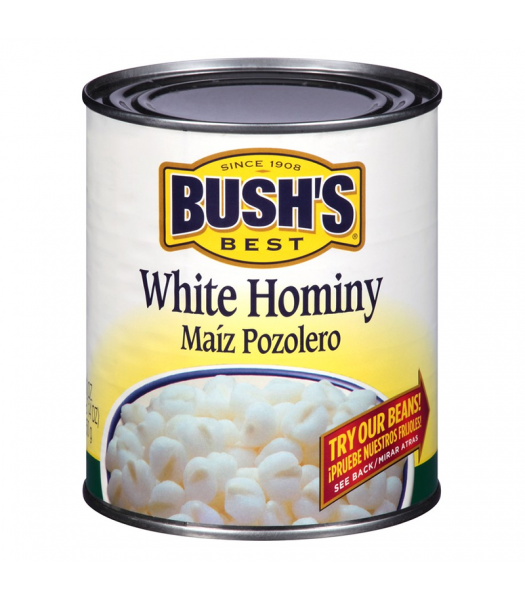 Bush's Best White Hominy Beans - 30oz (850g) Food and Groceries Bush's Beans