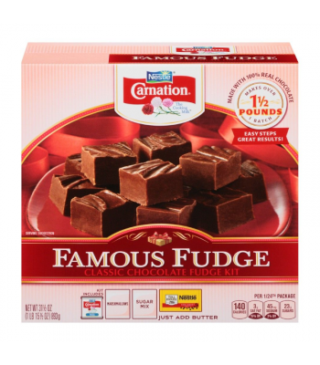 Carnation Famous Fudge Kit - 31.5oz (893g) Food and Groceries