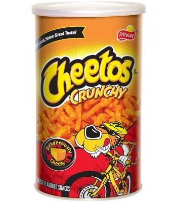 Cheetos Crunchy Canister 4.25oz (120g) Crisps & Chips Cheetos