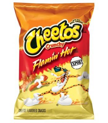 Cheetos Crunchy Flamin' Hot KING SIZE 3.5oz (99.2g) Crisps & Chips Cheetos