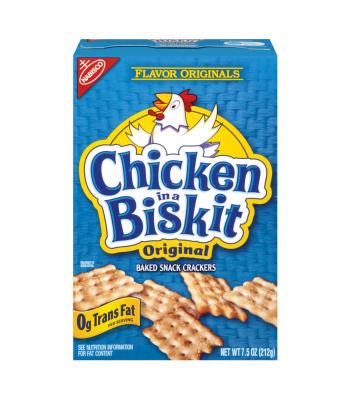 Nabisco Chicken In a Biskit 7.5oz (213g) Crackers Nabisco