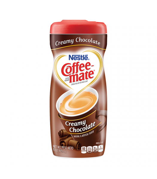 Coffee-Mate Creamy Chocolate 15oz (425g) Hot Drinks Coffee Mate