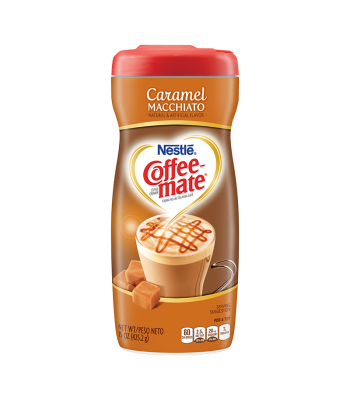 Coffee Mate Caramel Macchiato Creamer 15oz (425g) Hot Drinks Coffee Mate