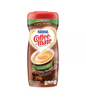 Coffee-Mate Sugar Free Creamy Chocolate Creamer 10.2oz (289g) Soda and Drinks Coffee Mate