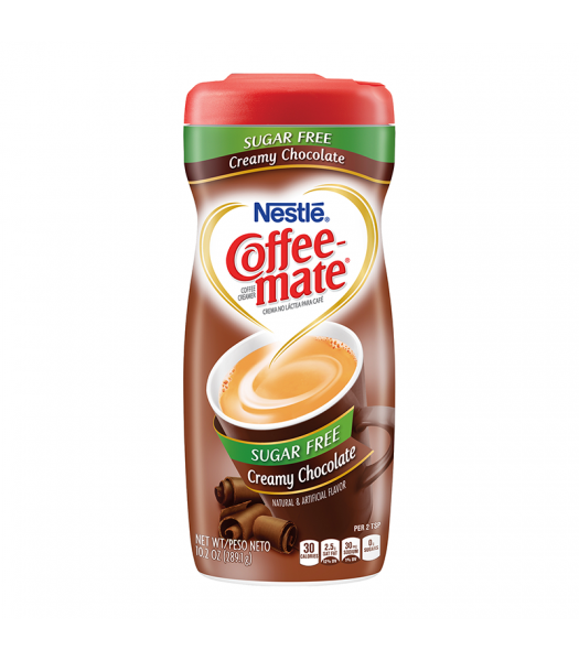 Coffee-Mate Sugar Free Creamy Chocolate Powdered Creamer - 10.2oz (289g) Soda and Drinks Coffee Mate