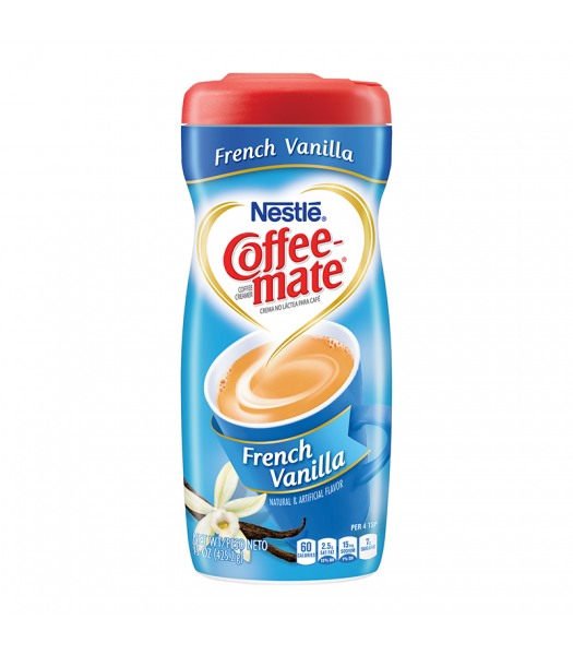 Coffee-Mate French Vanilla Creamer 15oz (425g) Hot Drinks Coffee Mate