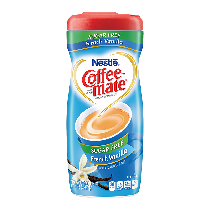 Coffee Mate Sugar Free French Vanilla 102oz 289g