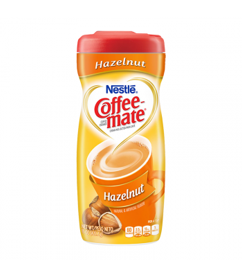 Coffee Mate Hazelnut Creamer 15oz (425g)  Hot Drinks Coffee Mate