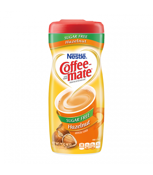 Coffee-Mate Sugar Free Hazelnut Powdered Creamer - 10.2oz (289g) Soda and Drinks Coffee Mate