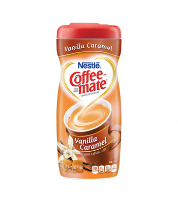 Coffee Mate Vanilla Caramel Creamer 15oz (425g) Hot Drinks Coffee Mate