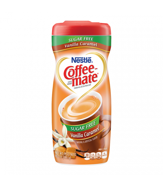 Coffee-Mate Sugar Free Vanilla Caramel Creamer 10.2oz (289g) Soda and Drinks Coffee Mate