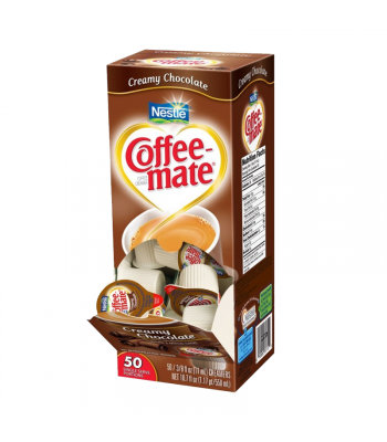 Coffee-Mate - Creamy Chocolate - Liquid Creamer Singles - 50-Piece x 3/8fl.oz (11ml) Soda and Drinks Coffee Mate