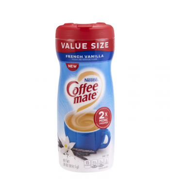 Coffee Mate French Vanilla Powder - 30oz (850.5g) Soda and Drinks Coffee Mate