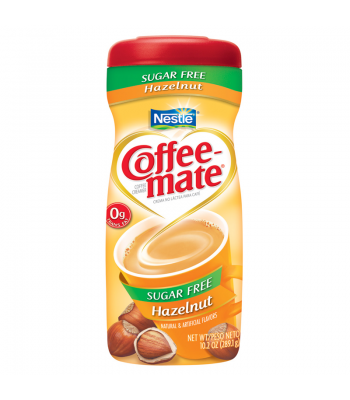 Coffee Mate Sugar Free Hazelnut 10.2oz (289g)