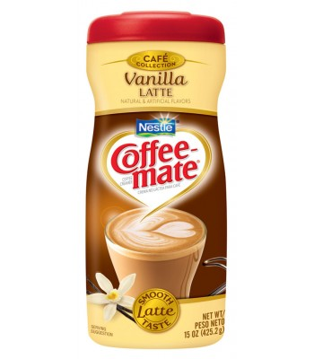 Coffee Mate Vanilla Latte Creamer 15oz (425g) Hot Drinks Coffee Mate
