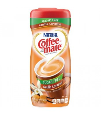 Coffee Mate Sugar Free Vanilla Caramel Creamer 10.2oz (289g) Soda and Drinks Coffee Mate