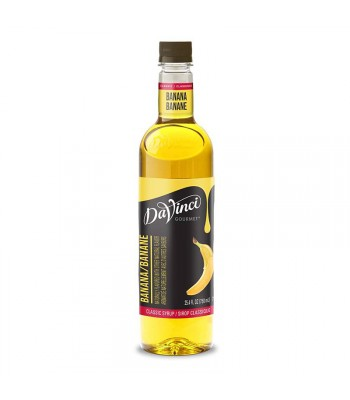 DaVinci Gourmet Syrup Classic Banana (750ml) Food and Groceries DaVinci