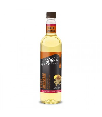 DaVinci Gourmet Syrup Classic Ginger (750ml) Food and Groceries DaVinci