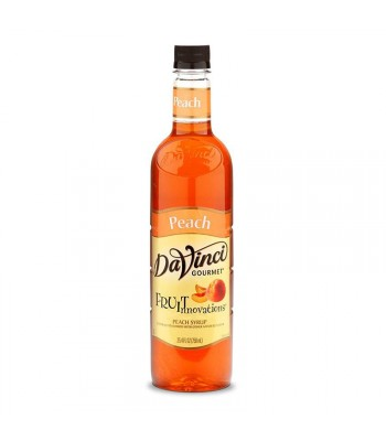 DaVinci Gourmet Syrup Fruit Innovations Peach (750ml) Food and Groceries DaVinci