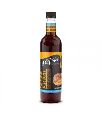 DaVinci Gourmet Syrup Sugar Free Gingerbread (750ml) Food and Groceries DaVinci