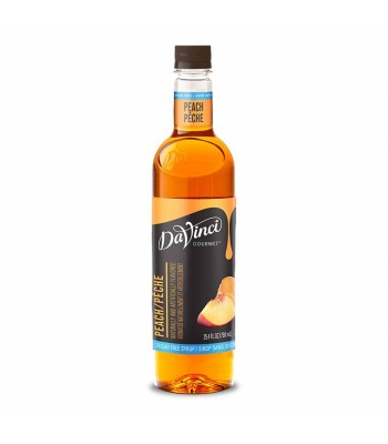 DaVinci Gourmet Syrup Sugar Free Peach (750ml) Food and Groceries DaVinci