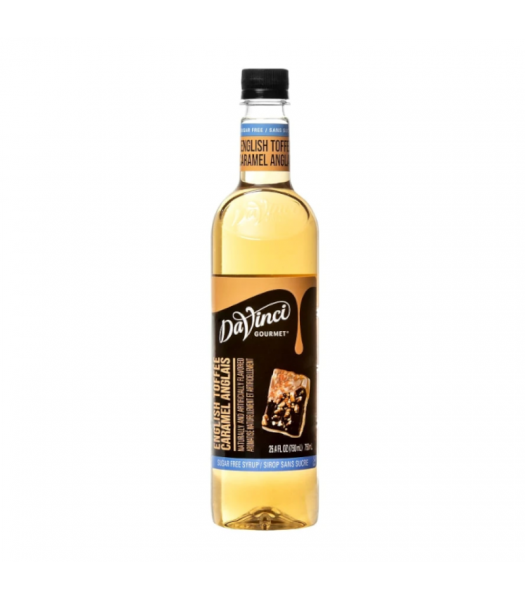DaVinci Gourmet Syrup Sugar Free Classic English Toffee - 750ml Food and Groceries