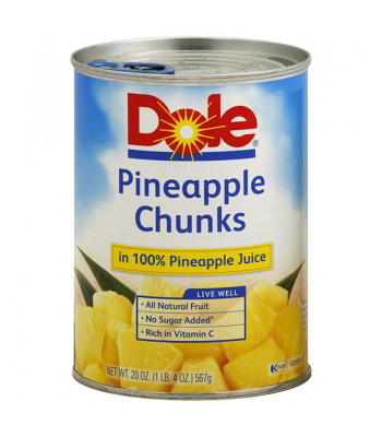 Clearance Special - Dole Pineapple Chunks in Pineapple Juice 20oz ** Best Before: October 2016 ** Clearance Zone