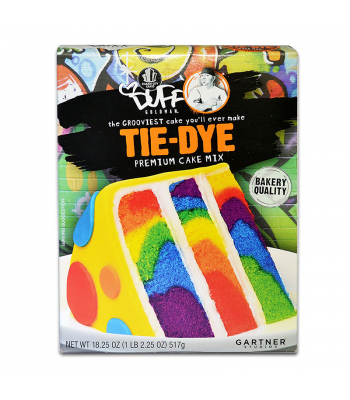 Duff Tie Dye Cake Mix 18.25oz (517g) Food and Groceries
