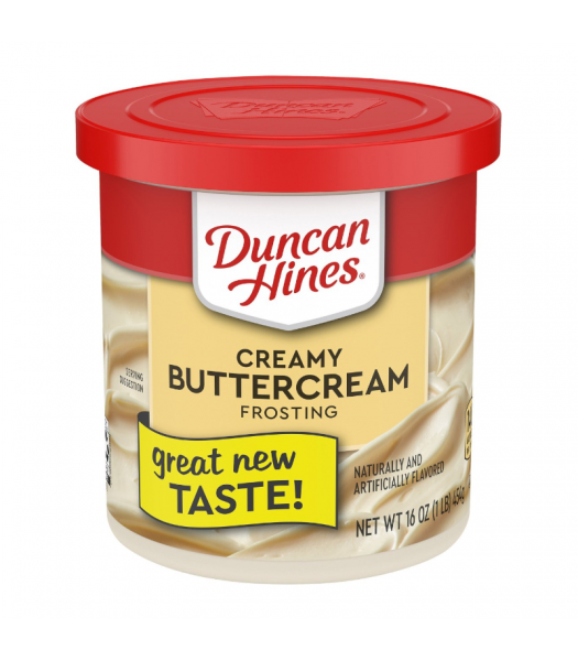 Clearance Special - Duncan Hines Creamy Buttercream Frosting 16oz (454g) **Best Before: June 21** Clearance Zone