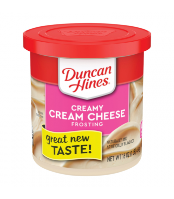Clearance Special - Duncan Hines Creamy Cream Cheese Frosting 16oz (454g) **Best Before: June 21** Clearance Zone